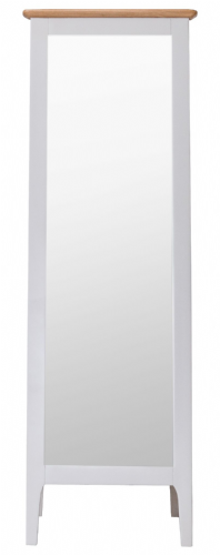Scandia Grey Cheval Mirror